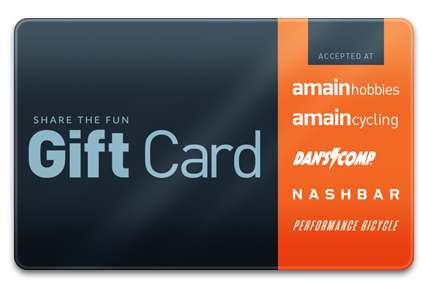 A Main Hobbies Physical Gift Card